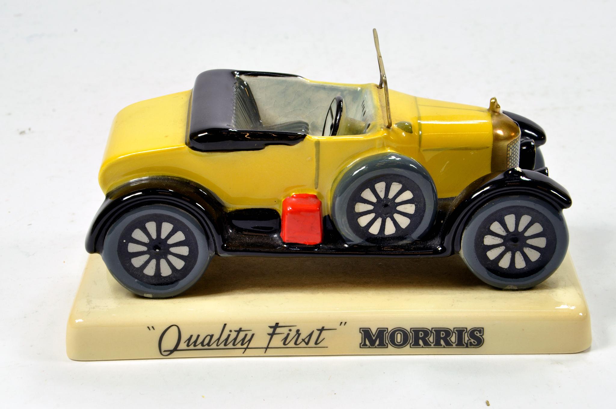 Lot 562 - Unusual Ceramic promotional Morris piece.
