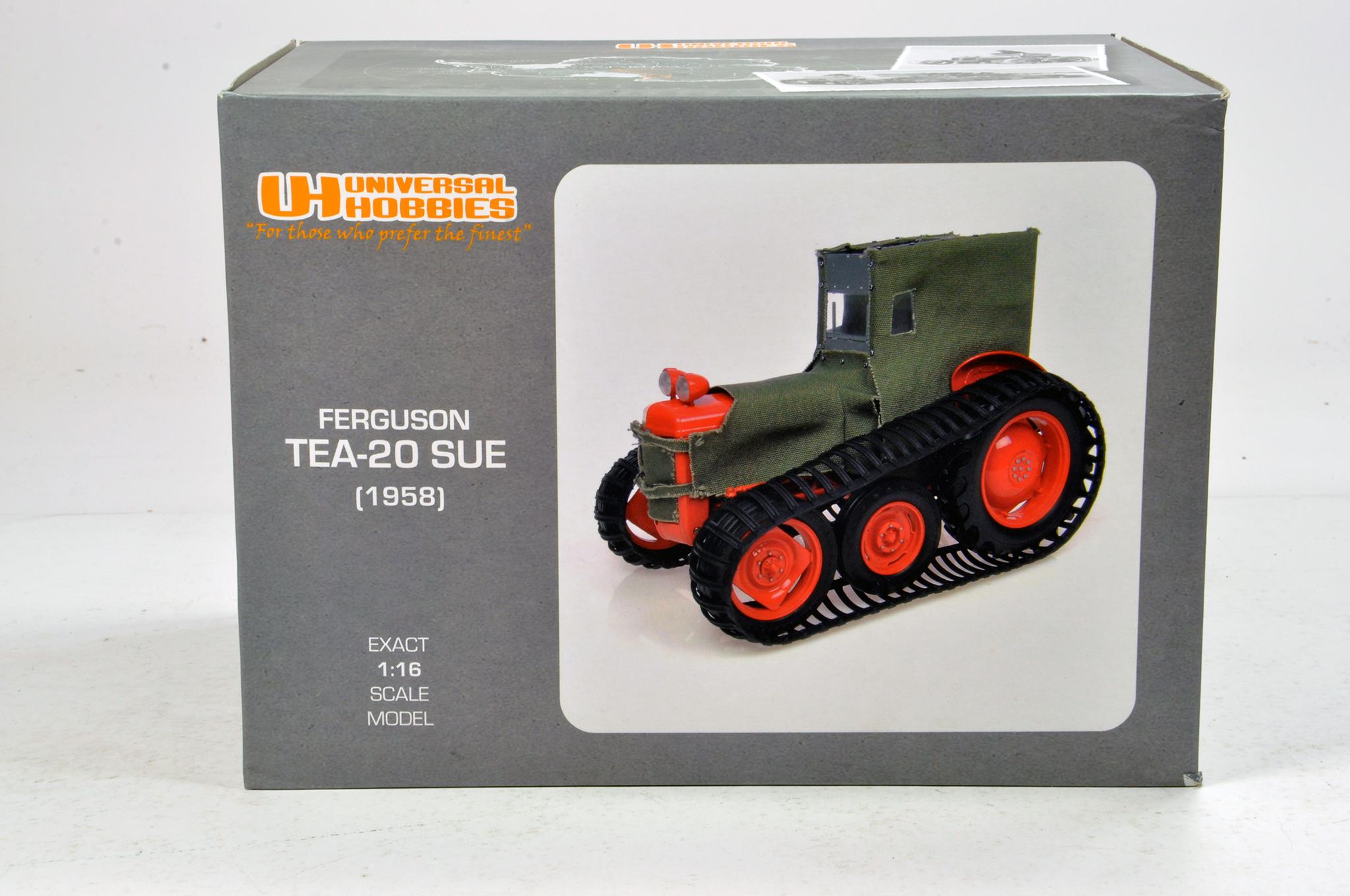 Lot 978 - Universal Hobbies 1/16 Ferguson TEA20 Sue Tractor. NM in Box.