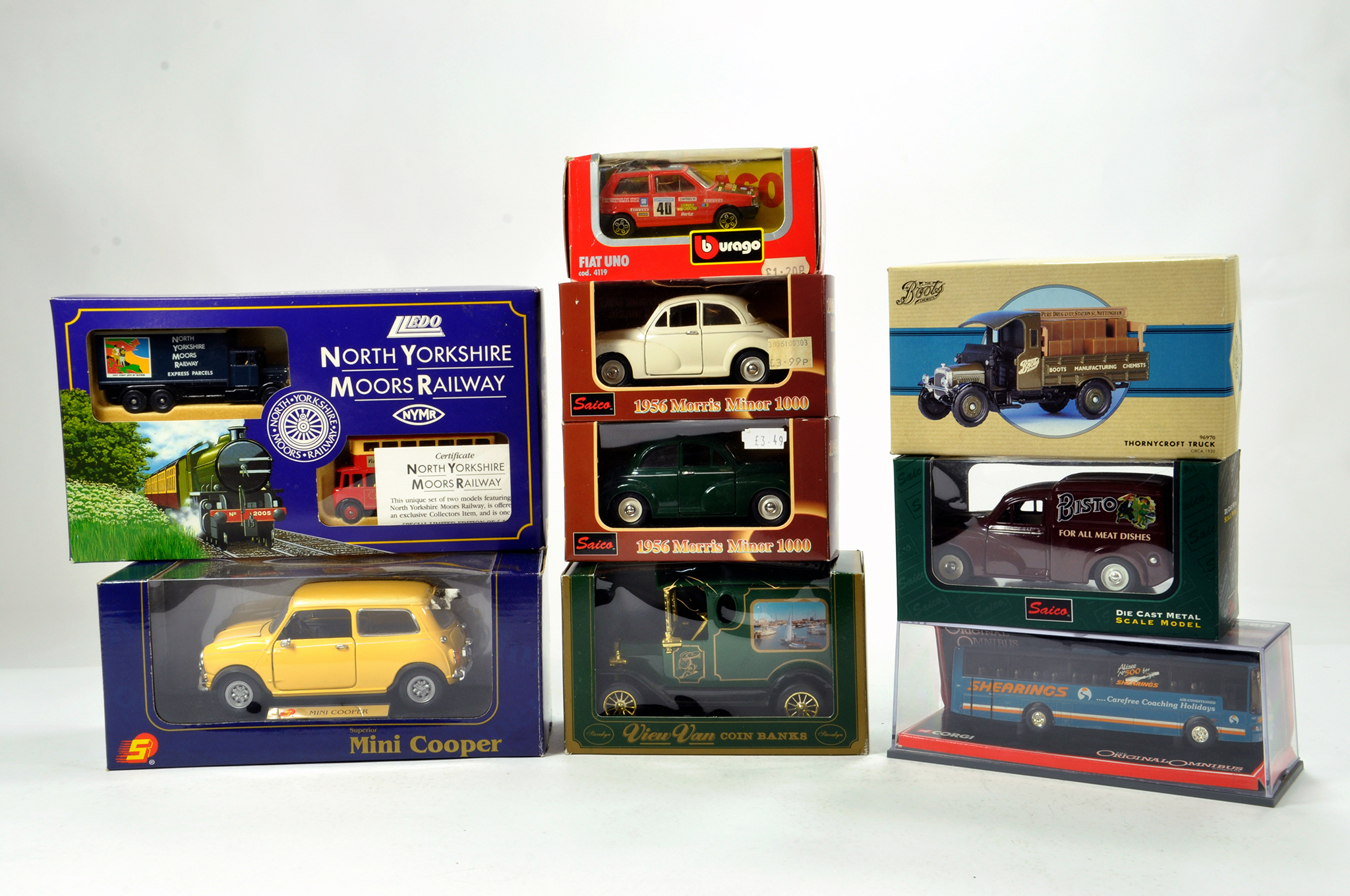 Lot 118 - Interesting Misc Diecast group comprising various issues from different makers. Some promotional