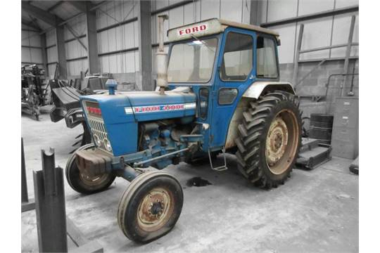 Ford 4000 Diesel Tractor : Ford cylinder diesel tractor reg no gbj n