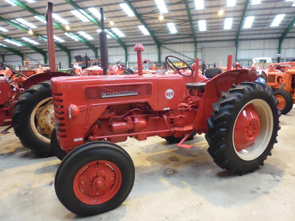 1960 International Tractor : International b cylinder diesel tractor reg no