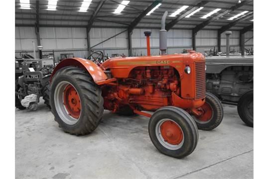1956 Case Tractor : Case cylinder diesel tractor reg no xug