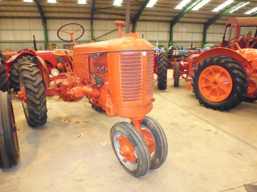 1947 Case Tractor : Case model vac cylinder petrol tractor reg no