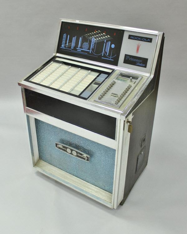 A Rock-ola Princess Deluxe stereo jukebox, model 435,