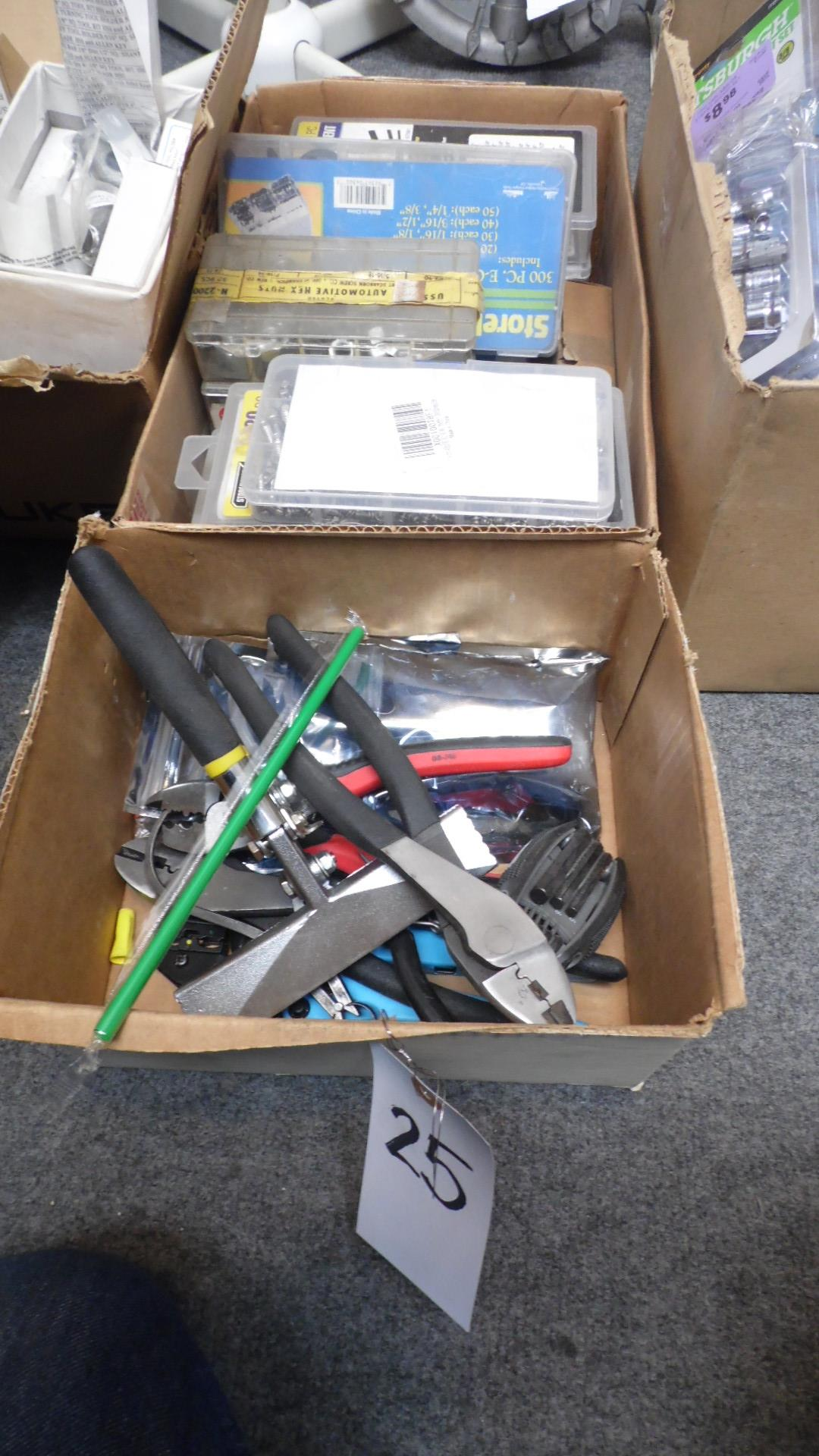 Lot 25 - ASSORTED TOOLS -HARDWARE