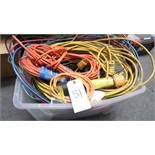 ASSORTED CORDS - CABLE