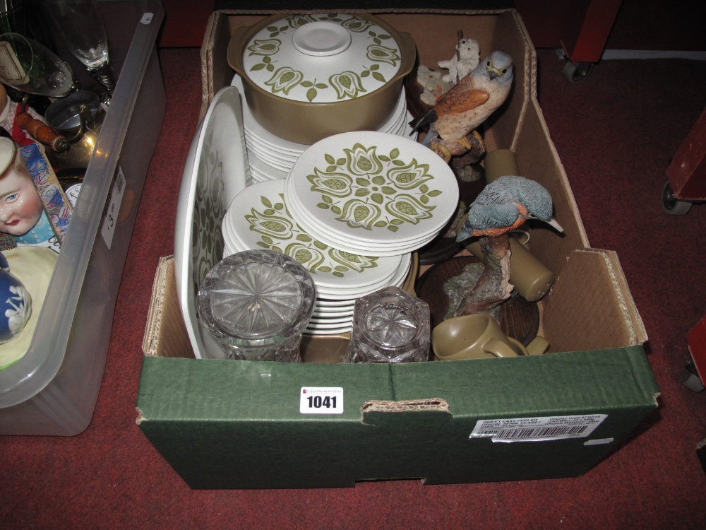 Lot 1041 - Meakin 'Maidstone' Dinner Service, of approximately thirty-three pieces, Country Artists and two