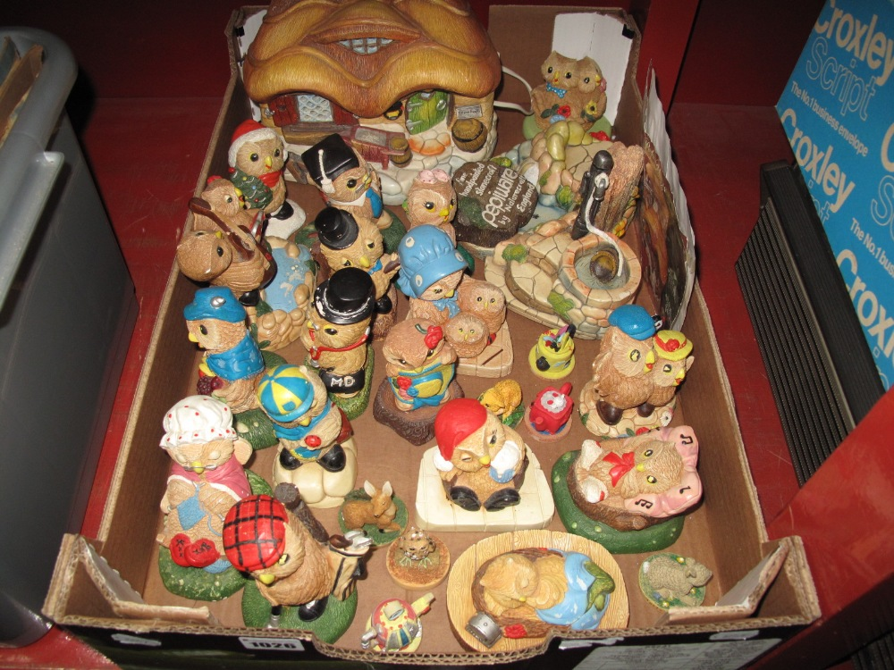 Lot 1026 - Pepiware Handcrafted Stoneware Figures, including Prof Sweethearts, Tips and other figures etc:- One