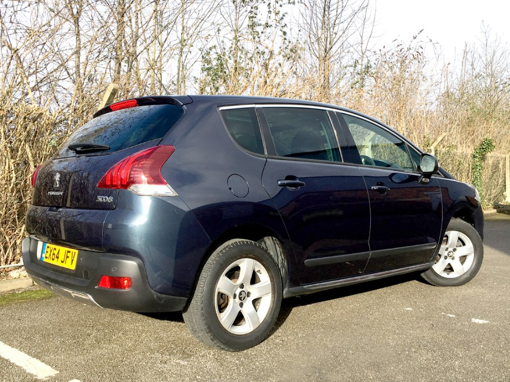 Lot 1001 - 2014/64 (Registration number EX64 JFV) Peugeot 3008, 1.6 HDi (Diesel) Allure 5-door in metallic '