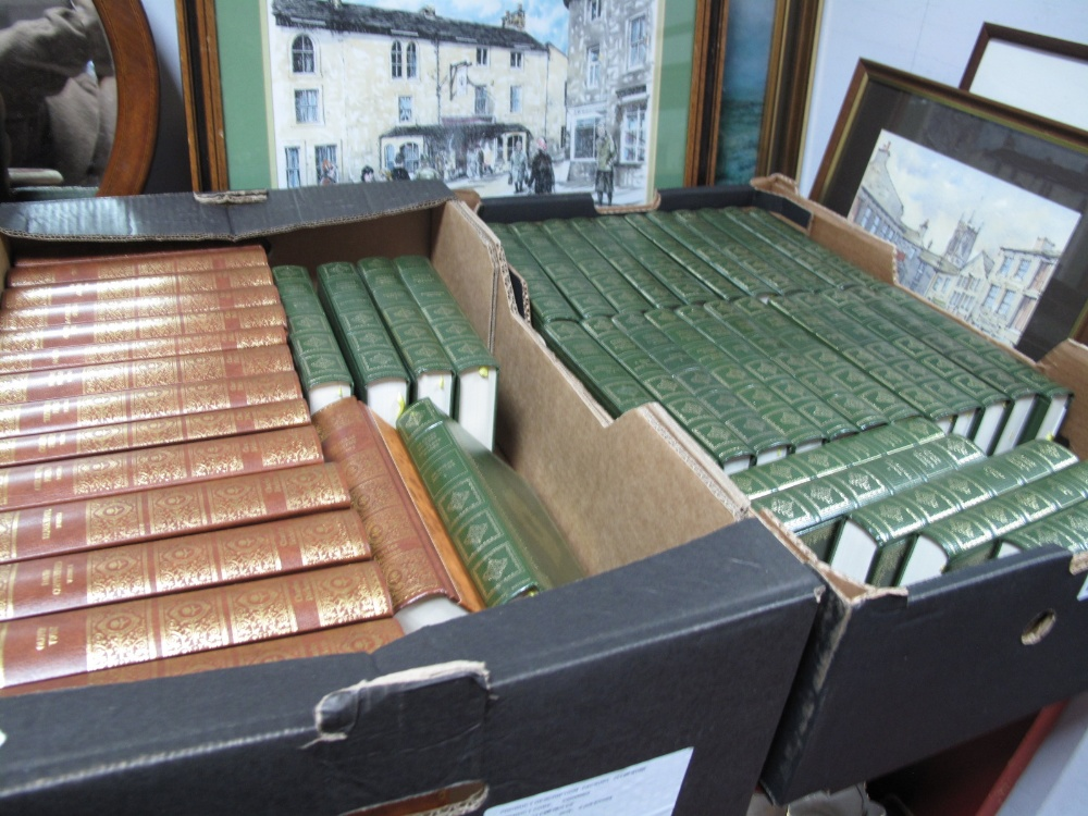 Lot 1046 - A Collection of Thirty-Three Dickens Complete Works, by Heron Books; sixteen volumes of Dickens by