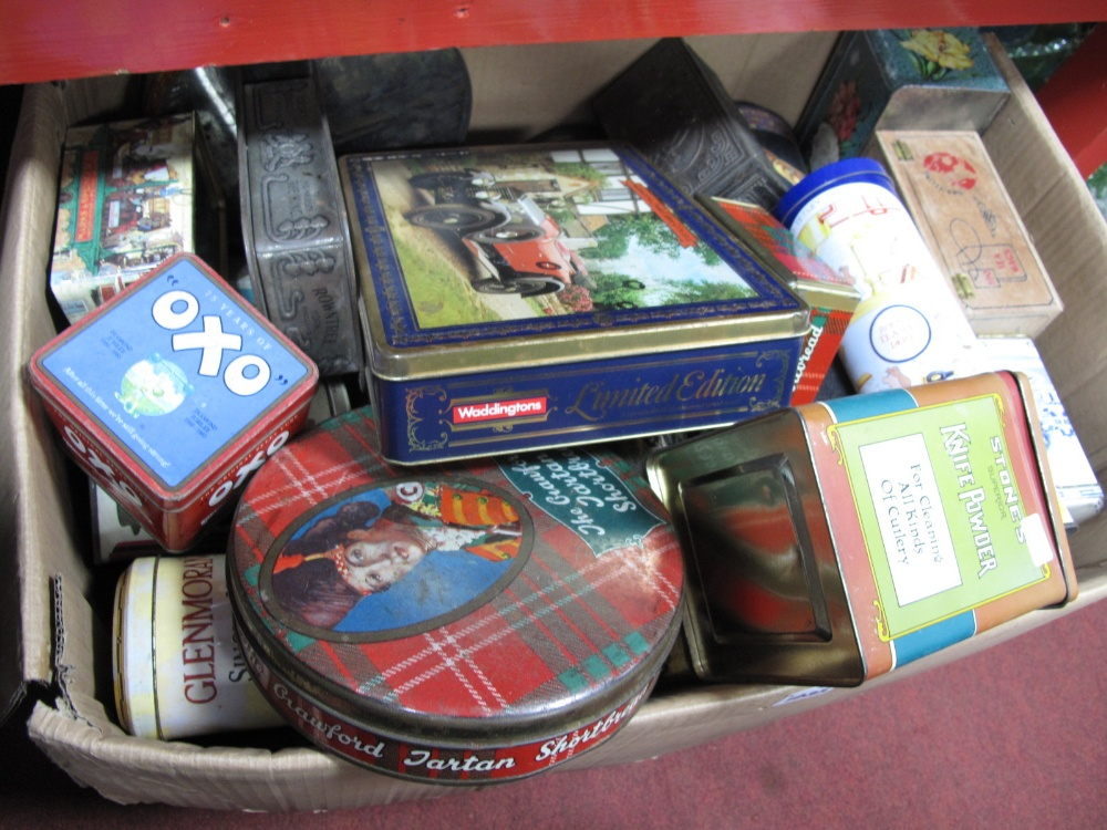 Lot 1035 - Quantity of Tins, to include Rowntree, State Express Cigarettes:- One Box