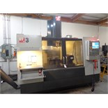 2011 Haas VF-3 5-Axis CNC Vertical Machining Center s/n 1085122 w/ Haas Controls, 20-Station ATC,