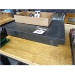 "18"" x 24"" x 3"" 2-Ledge Granite Surface Plate"