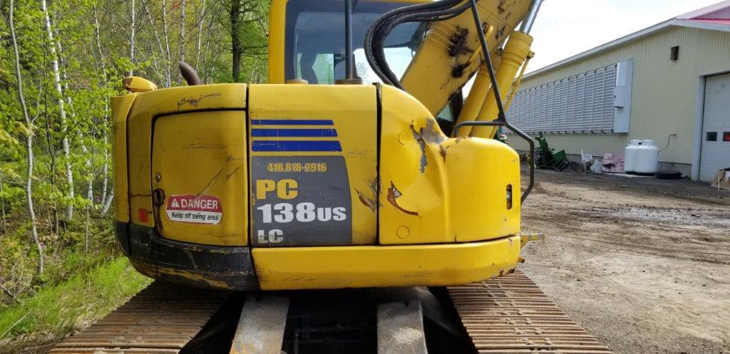 Lot 7 - KOMATSU Excavator, mod: PC138, ns: 20554, 2007 (see photos for details)