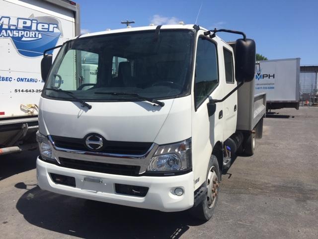 Lot 29 - HINO Dump Truck, mod: 195C, 2016, sn: JHHVDM2H0GK002301, (see photos for details)