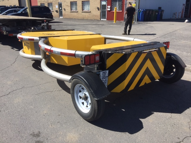 Lot 19 - SCORPION TL-3 Trailer Attenuator, 2017