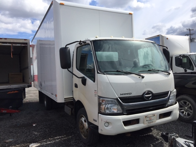 Lot 10 - HINO Truck mod: 195, 2013, sn: JHHSDL2H0DK001528, (see photos for details)