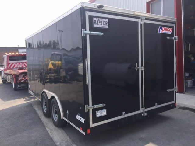 Lot 20 - 2018 PACE Cargo Trailer , mod: JV85X, (see photos for details)