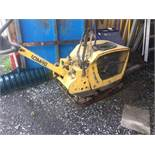 BOMAG Reversible Compactor,mod: BPR 45-55, 2005 (see photos for details)