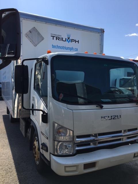 Lot 30 - ISUZU Truck, 2013, mod: NRR, 20', Diesel, sn: JALE5W167D7301440 (see photos for details)