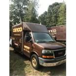 2005 GMC Gas Cube Van, Full Height, Cab, Pass Thru, Utilitimaster 10' Body A/C Auto, Translucent