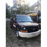 2004 Chevrolet 3500 Van #G33405, Rear & Side Barn Doors, 1 Ton, Auto, AC, Gas, Int. Shelving,