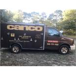 2006 GMC Diesel Utility Van Utilimaster 10' Body, Translucent Roof, Auto, AC, 1 Ton, Odom: 145,
