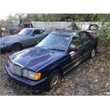 1987 Mercedes Benz #190E 2.3, 4 Door,Sun Roof, Auto, Odom: 136,349, VIN#: WDBDA28D7HF368135 (PROJECT