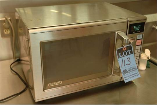Hobart Model Hm1000 Commercial Microwave Oven S N As 003317 115 Volt New 1993
