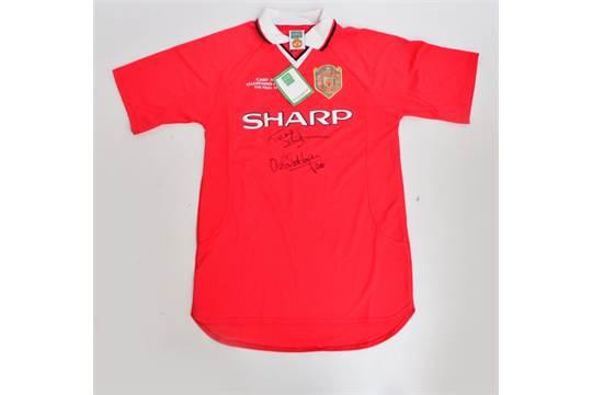 A Manchester United Camp Nou Champions League Final 1999