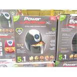 | 5X | POWER AIR FRYER 5L | UNCHECKED AND BOXED | NO ONLINE RE-SALE | SKU C5060191466936 | RRP £99.