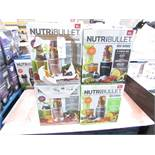 | 5X | NUTRI BULLET 900 SERIES, COLOUR MAY VARY FROM THE PICTURE | UNCHECKED AND BOXED | NO ONLINE