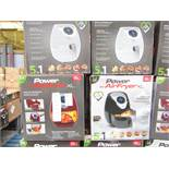| 5X | POWER AIR FRYER 3.2L | UNCHECKED AND BOXED | NO ONLINE RE-SALE | SKU 5060191468053| RRP £79.