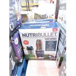 | 2X | NUTRI BULLET 1000 SERIES | UNCHECKED AND BOXED | NO ONLINE RESALE | RRP £99.99 |TOTAL LOT RRP