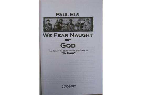 We Fear Naught but God