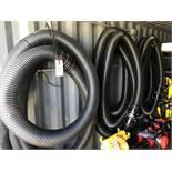 """LOT - (3) 5"""" X 36' PVC SUCTION HOSES (LOCATION: FLEX CONTAINER)"""