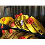 """LOT - (9) 2-1/2"""" FIRE HOSES: (6) 100' AND (3) 50' (LOCATION: FLEX CONTAINER)"""