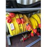 """LOT - (8) 2-1/2"""" FIRE HOSES: (5) 100' AND (3) 50' (LOCATION: FLEX CONTAINER)"""
