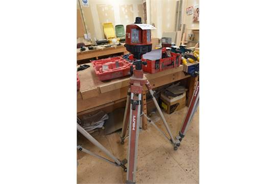 hilti pr16 rotating laser level c w carry case remote amp tripod rh bidspotter co uk PR 16 Bulb PR 16 Bulb