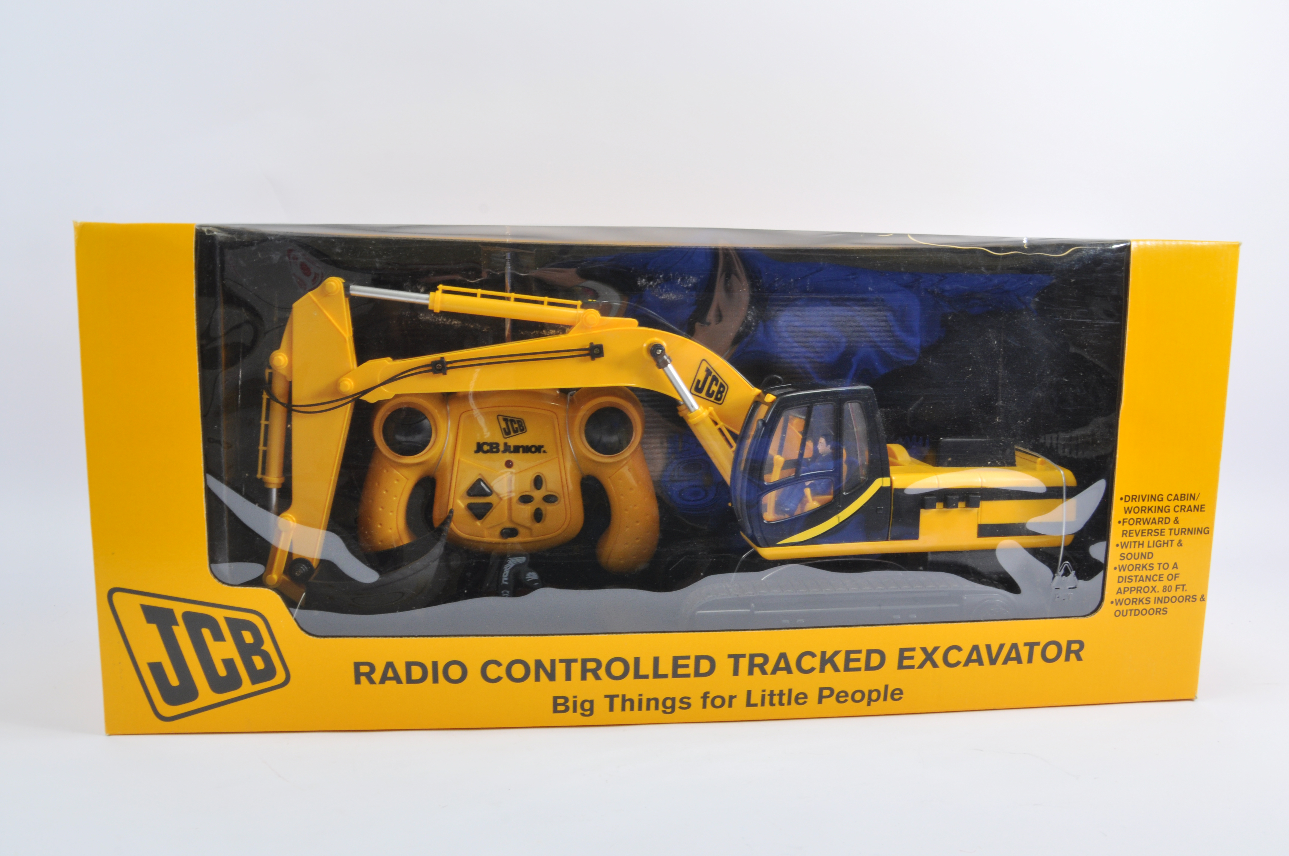 Large Scale Radio Control Jcb Tracked Excavator Approx 1 16 Scale