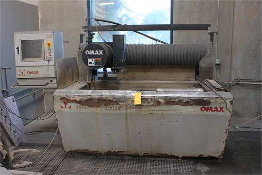 2004) Omax 2652 CNC Waterjet, Omax P2040V Pump Unit, S/N on