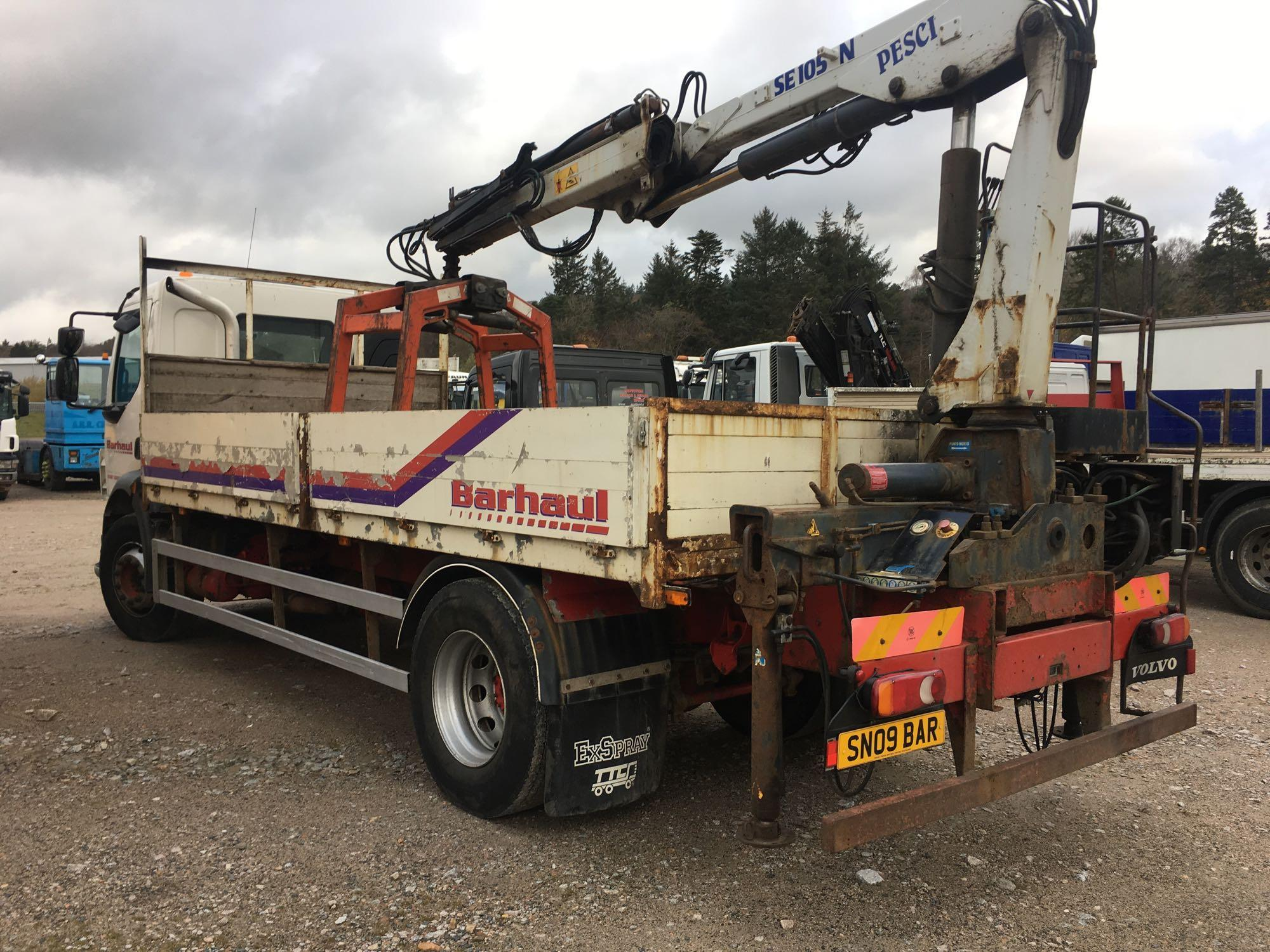 Lot 4031 - Volvo Fl Flh 4x2 L1h1 Day E4 - 7146cc 2 Door Truck