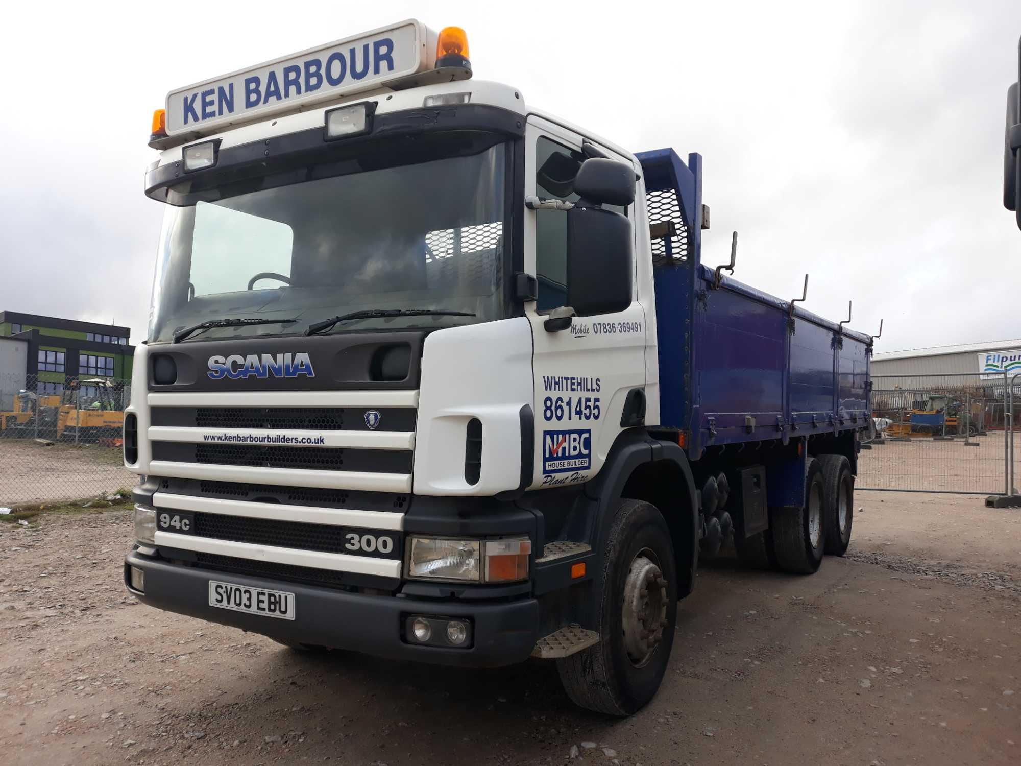 Lot 4001 - Scania 4-srs C-class P94 Cb 6x4 300 Day - 8970cc 2 Door Truck
