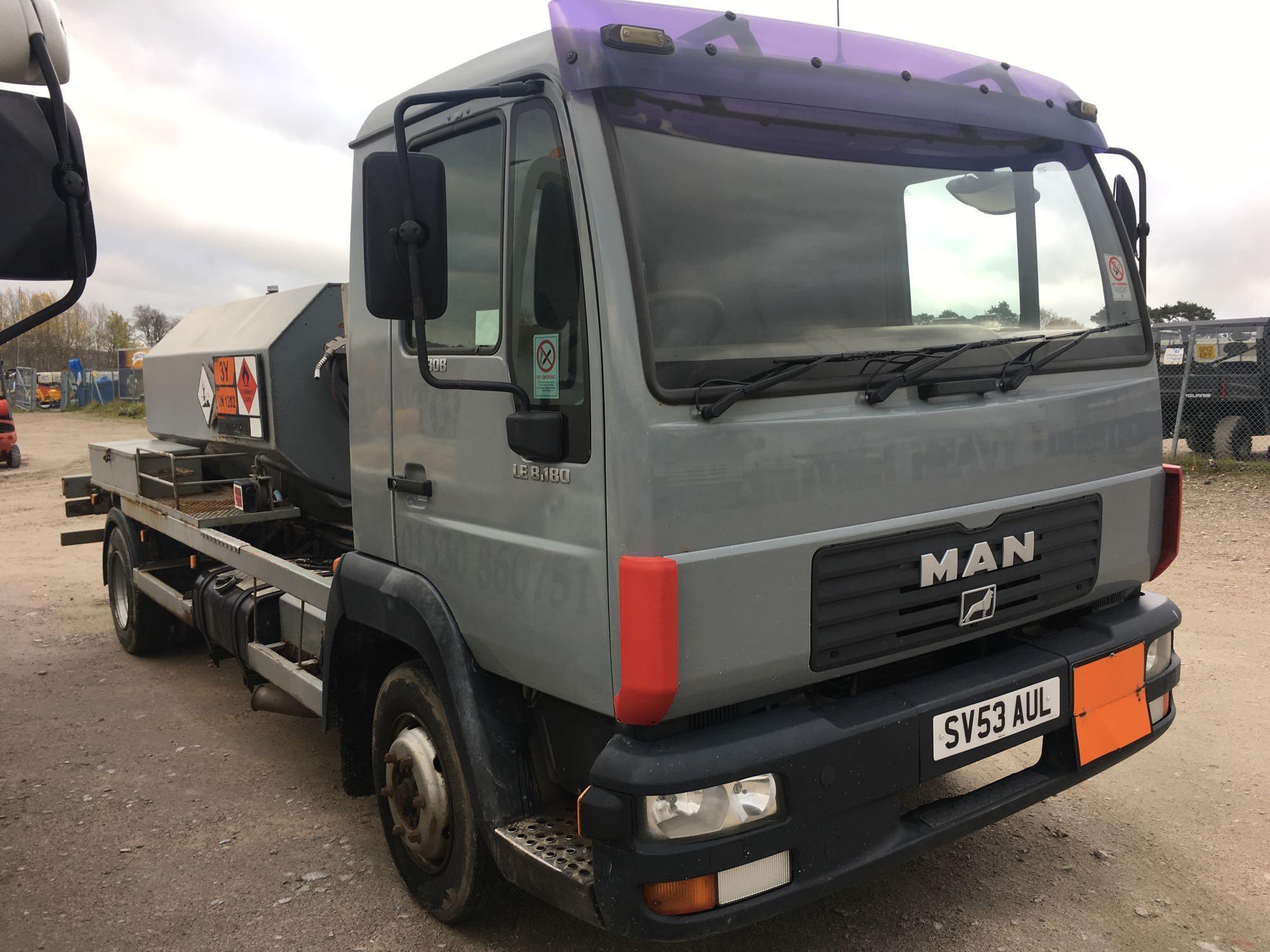 Lot 4043 - Man L 2000 8.185 Lrc Day - 4580cc 2 Door Truck
