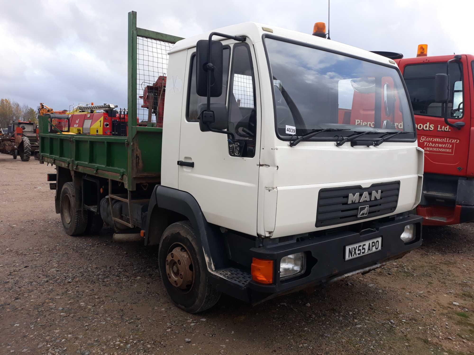Lot 4039 - Man L 2000 8.155 Lrk Day - 4580cc 2 Door Truck