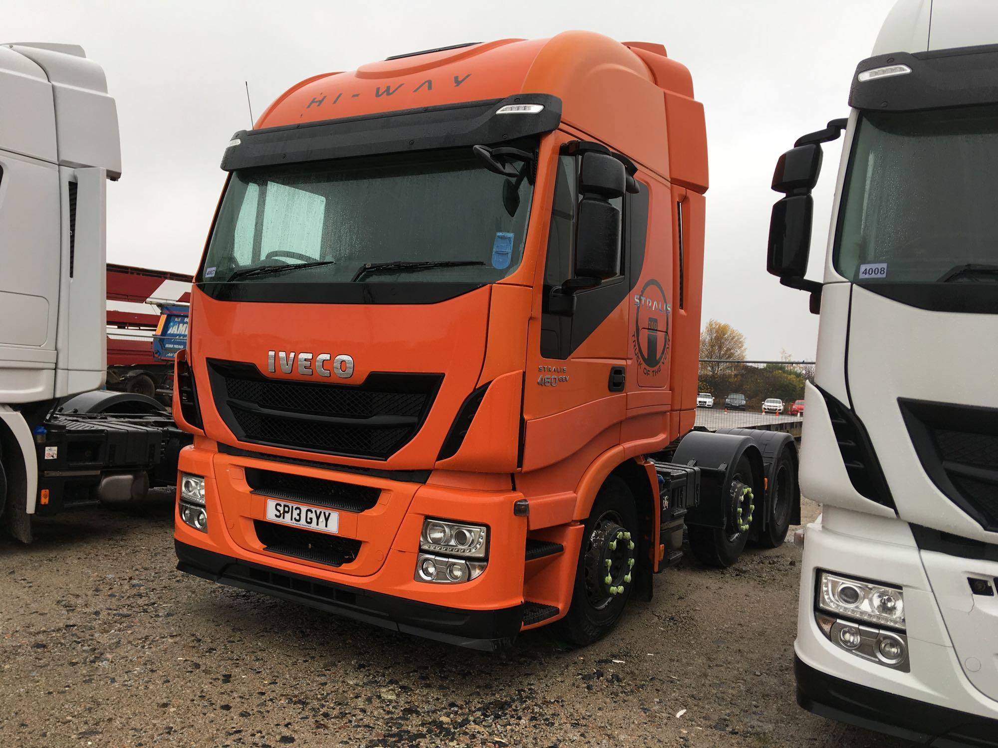 Lot 4007 - Iveco Stralis As440s46tx/p S-a - 10308cc 2 Door Truck
