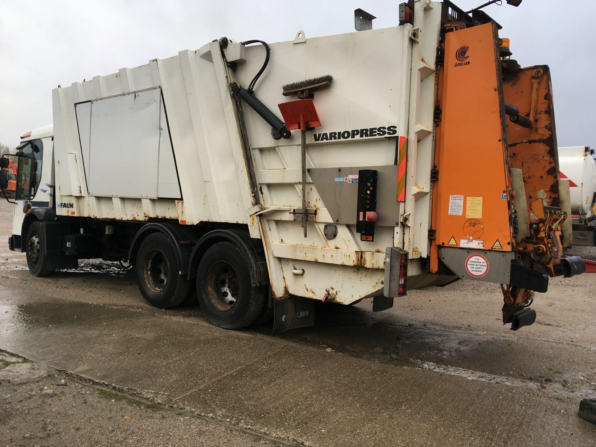Lot 4016 - Dennis Eagle Elite 2 W2629 Vrj Crc E5 - 7142cc 2 Door Truck