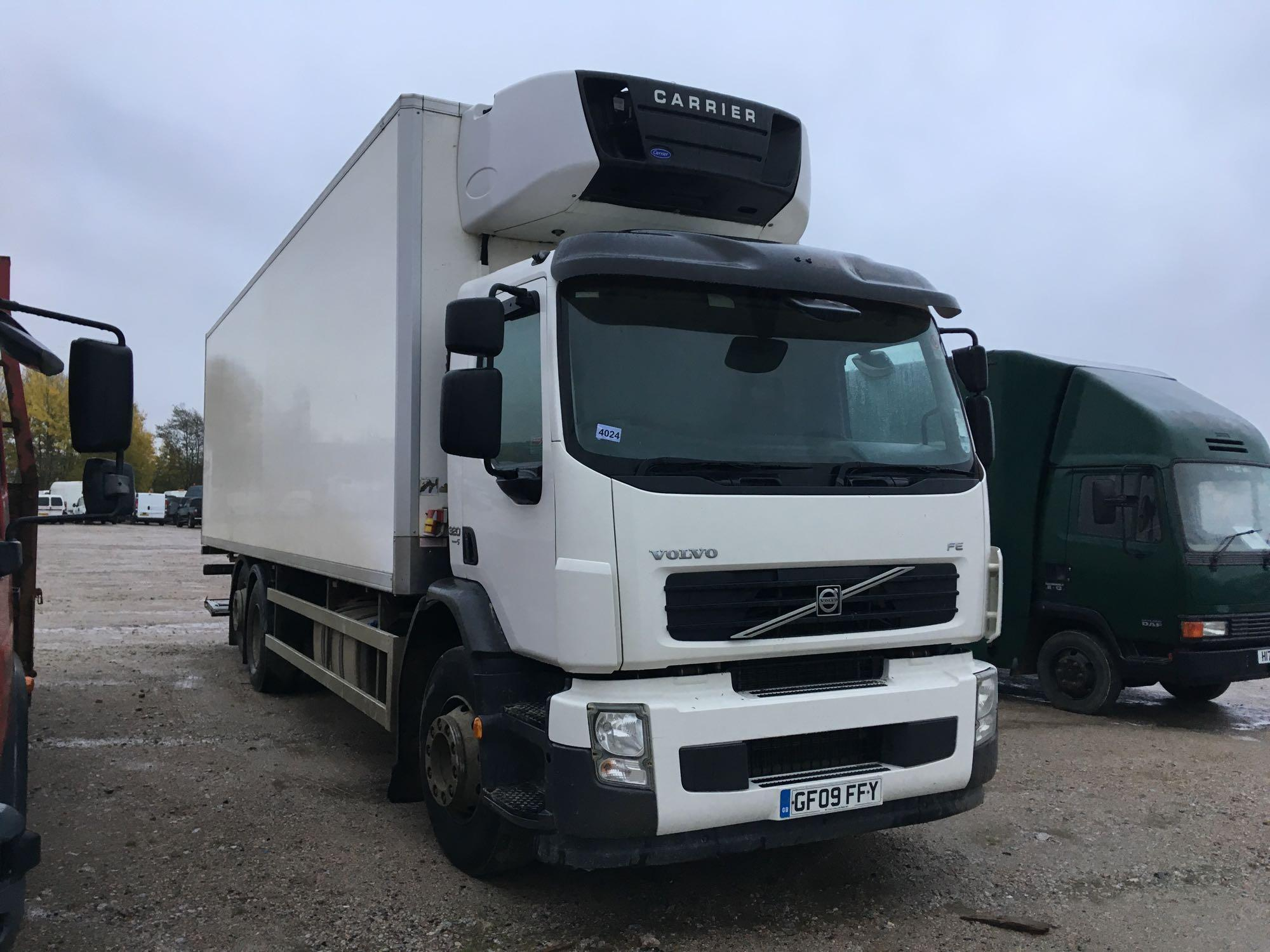 Lot 4024 - Volvo Fe Fes/e320 6x2 L1h1 Day E5 - 7146cc 2 Door Truck