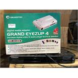 1 LOT TO CONTAIN 2 ELECTRICAL GOODS / 1 X GRANDTEC GRAND EYEZUP 4 PORTABLE VIDEO, AUIDO, TV