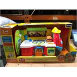 1 BOXED AS NEW CHICCO ALBERT CAMION BURGER FOOD TRUCK (SOLD AS SEEN)